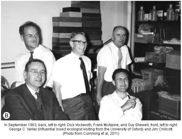 Dick Vockeroth and the CNC gang