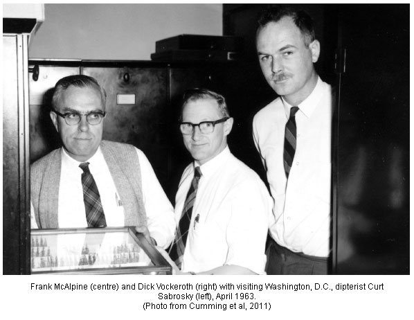 Dick Vockeroth, Frank McAlpine and Curtis Sabrosky CNC