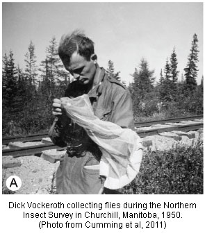 Dick Vockeroth in Churchill Manitoba