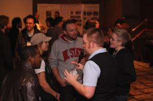 Great turn out to the ESC student mixer! Photo credit: Seth McCann