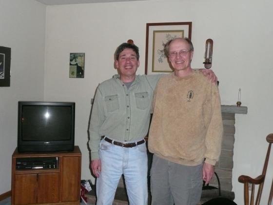 Staffan (R) and Ken (L) (photo by C Raffa)
